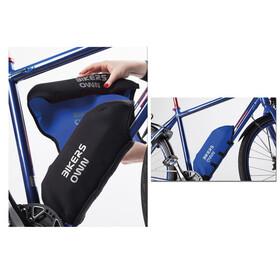 BIKERSOWN Protezione batteria da telaio Protezione parti per Yamaha blu/nero